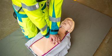 Ambulancier bij bevrijding geknelde persoon